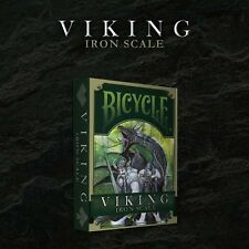 VIKING IRON SCALE BICYCLE DECK OF PLAYING CARDS BY CROOKED KINGS MAGIC TRICKS