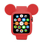 Soft Silicone Protective Case Cartoon Mouse Ears for Apple Watch 44MM (Series 4)