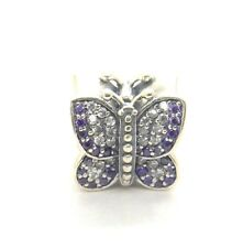 Authentic S925 Pandora Sparkling Butterfly Charm Bead 791257ACZ