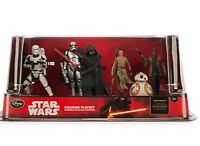 NEW Disney Store Star Wars The Force Awakens PVC Figurine 6 Figure Play SET GIFT