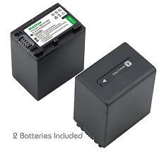 2x Kastar Battery for Sony NP-FV100 HDR-XR550V HXR-MC50U HXR-NX3D1U HXR-NX30U