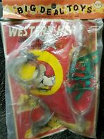 big deal toys western hero junior sheriff set Very Rare Very little survived.