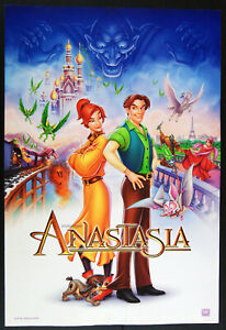 miniposter originale US film ANASTASIA animazione Don Bluth 1997