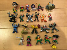 "Lot of 19 Teen Titans Go! Mini Action Figures 2"""