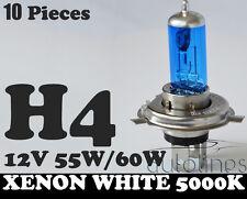10x H4 60W / 55W 12V Xenon White 5000k Car Headlight Globes Bulbs HID WHOLESALE