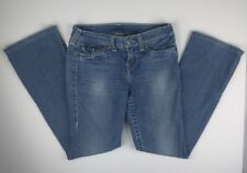 Womens True Religion Becky Bootcut Jeans Size 29 Stretch Stone Wash Stonewashed