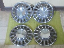 1968 Ford Mustang Hubcaps 14 Set Of 4 Wheel Covers 68 Hub Caps Fits Mustang