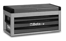 Beta C22S 3 Drawer Portable Tool Chest / Top Box Grey