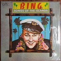 BING CROSBY - BING SINGS SONGS FROM THE ISLANDS - EX++ / EX++ VINYL LP - 1st