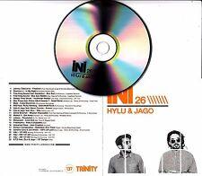 HYLU & JAGO INI-26 UK promo test mix CD Johnny Osbourne Freestylers Manasseh