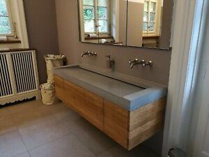 Betonwaschbecken,Betonwaschtisch,Waschbecken aus Beton,Betonmöbel,