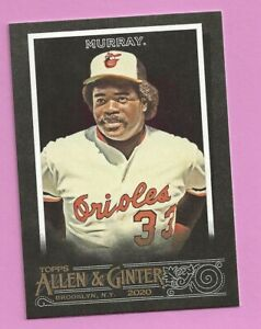 2020 Topps Allen & Ginter X Eddie Murray #57 Baltimore Orioles