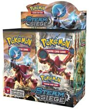 1x  Steam Siege: Booster Box NM-Mint Sealed Product - Pokemon