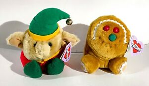 Puffkins Stuffed Animals Collectibles Limited  Edition Elvin & Spice