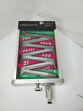 """VINTAGE 1940'S 5¢ ATLAS """"TILT-TEST"""" ARCADE GAME COIN-OP TRADE STIMULATOR w/KEY!"""
