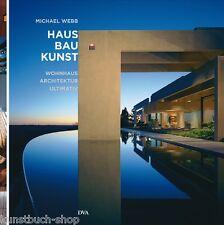 Fachbuch Haus Bau Kunst, Wohnhaus-Architektur ultimativ, Häuser aller Welt, NEU