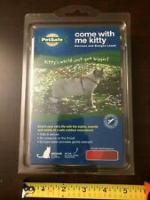 PetSafe COME WITH ME KITTY Cat Harness & Bungee Leash Red/Cranberry Sz Medium