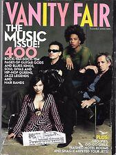 VANITY FAIR MAGAZINE NOVEMBER 2000 THE MUSIC ISSUE (GD-)