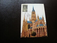 FRANCE - carte 1er jour 9/7/1977  (cathedrale de bayeux) (cy53) french
