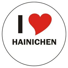 Aufkleber / Autoaufkleber - I LOVE Hainichen - JDM / Die cut / OEM-Auto 80mm