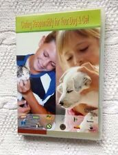 CARING RESPONSIBILITY FOR YOUR DOG AND CAT (DVD) R-ALL, LIKE NEW, FREE POSTAGE