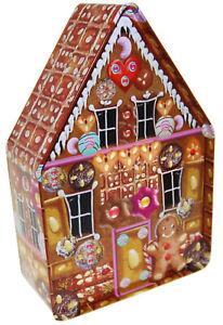 Plätzchendose, Lebkuchenhaus, X-mas, Weihnachten, Keksdose, Geschenkverpackung