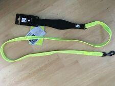 BNWT Truelove Neon Yellow REFLECTIVE LEAD 1.4m Neoprene Handle Size SMALL NEW