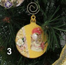 Gisela Graham décorations de Noël Balmoral gamme Queen Tartan Lion Teckel