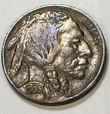 1935 Buffalo Nickel Detailed Lightly Toned In High Grade #6