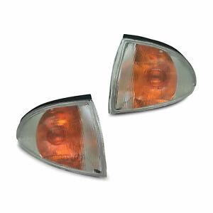 NEW Proton Jumbuck Indicator Corner Lights PAIR 2003 - 2010 Chrome Style LH + RH