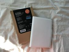 White | Leather Case Cover with Stand & Wireless Bluetooth Keyboard | Apple iPad