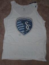 NEW MLS Kansas City Sporting ADIDAS Women Ladies Rough Cut Tank Butt Print L NWT