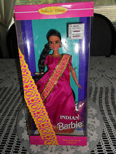 DOLLS OF THE WORLD ( INDIAN ) 1995 BARBIE COLLECTOR EDITION NOT FOR 3YRS UNDER