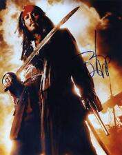 Signed Johnny Depp Color 8X10 Color RP Photo w/coa Free Shipping