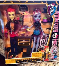 Monster High Home Ick Heath Burns & Abby Bominable