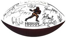 Heisman Trophy WinnerS Signed Football 9 auto Tim Brown Tony Dorsett Griffin COA