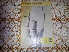 Wood Carving (1966, Paperback) 1978 Printing BSA Merit Badge Book