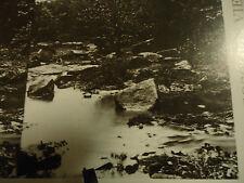 Stereoview Stereoscope Card Civil War Gem: Rock Creek Culp's Hill Reprint