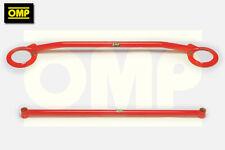 OMP FRONT & REAR UPPER STRUT BRACE FORD ESCORT COSWORTH