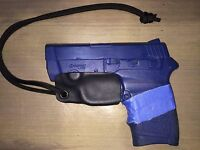 Kydex Trigger Guard for Smith & Wesson M&P Bodyguard .380 (with laser) Black