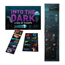 USPS New Bioluminescent Life Into the Dark: Stamps Under the Sea Folio