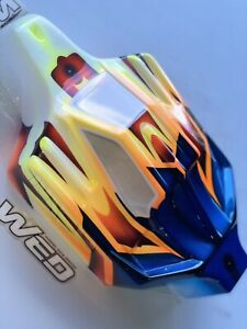 JConcepts 0260, RC8B3E, Painted By Winning Edge Designs, New