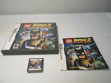 LEGO Batman 2: DC Super Heroes (Nintendo DS) game lite dsi xl 3ds 2ds