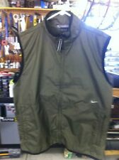 Nike Wind Vest, Large w/ Logo and two front zippered pockets