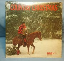 COUNTRY CHRISTMAS DPL1-0620 RCA LP WILLIE NELSON, DOTTIE WEST