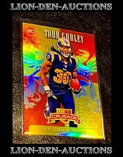 Todd Gurley 2015  Panini Rookies & Stars Crusade Red RC Jersey Stamp 30/99 1/1