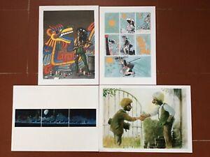4 stampe di Hugo Pratt /Enoch Luca/Frezzato Massimiliano