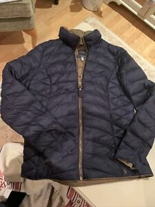 Joules Hillary Lightweight Feather And Down Jacket Size 10 Ladies
