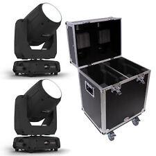 CHAUVET DJ Intimidator Beam 355 IRC Moving Head Light, Pair & Flight Case