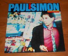 Paul Simon Hearts and Bones Poster Flat Square Promo 12x12 Rare